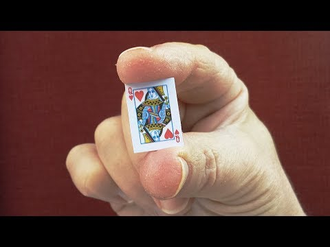 LEARN THE INCREDIBLE 'SHRINKING CARD' MAGIC TRICK!