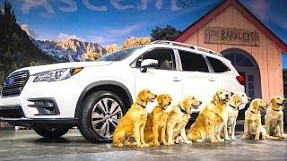 Subaru Ascent Live World Premiere All New 2018  + Subaru Dogs Commercial The Barkleys  CARJAM TV