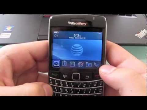 How to unlock Blackberry Bold 9700