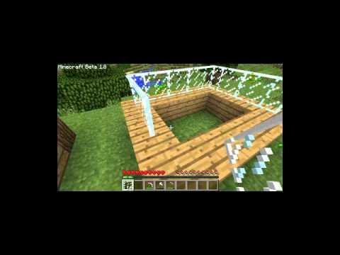 Minecraft 1.8 / 1.2.3 - Glasscheiben Tutorial [glass pane]