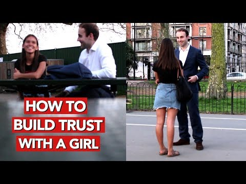 How to build trust with a girl? Infield pickup video!