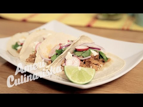 Slow Cooked Pulled Chicken Tacos  | Americulinariska