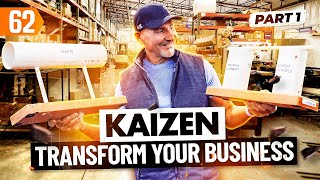 KAIZEN: Change Your Business and Create Success (with Paul Akers) Pt. 1