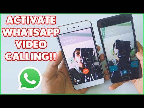 Use WHATSAPP VIDEO CALLING on any ANDROID DEVICE! With DEMO!