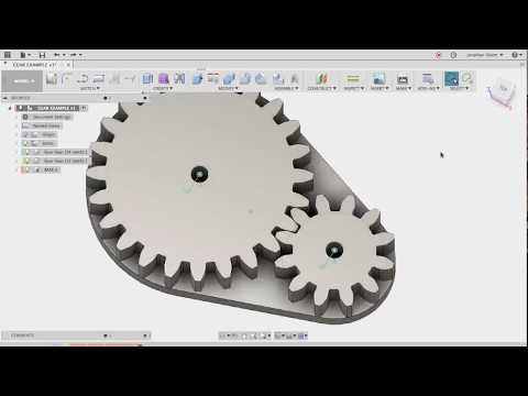 Spur Gears in Fusion 360