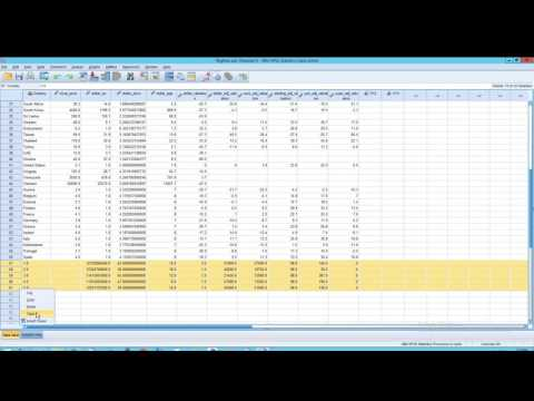 SPSS Statistics: Copy and Paste: Data and Variable Properties