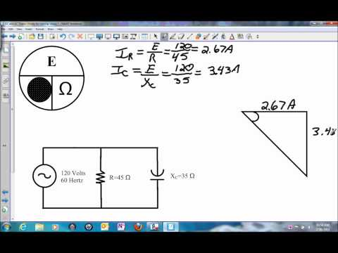 Current and Impedance in a Parallel RC Circuit.wmv
