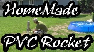 How To Easily Make A PVC Rocket