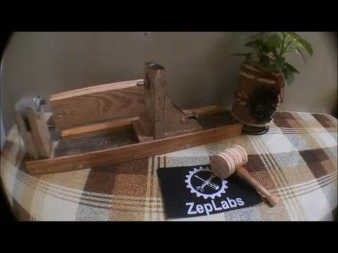 ZepLabs:  Mini  Wood  Lathe