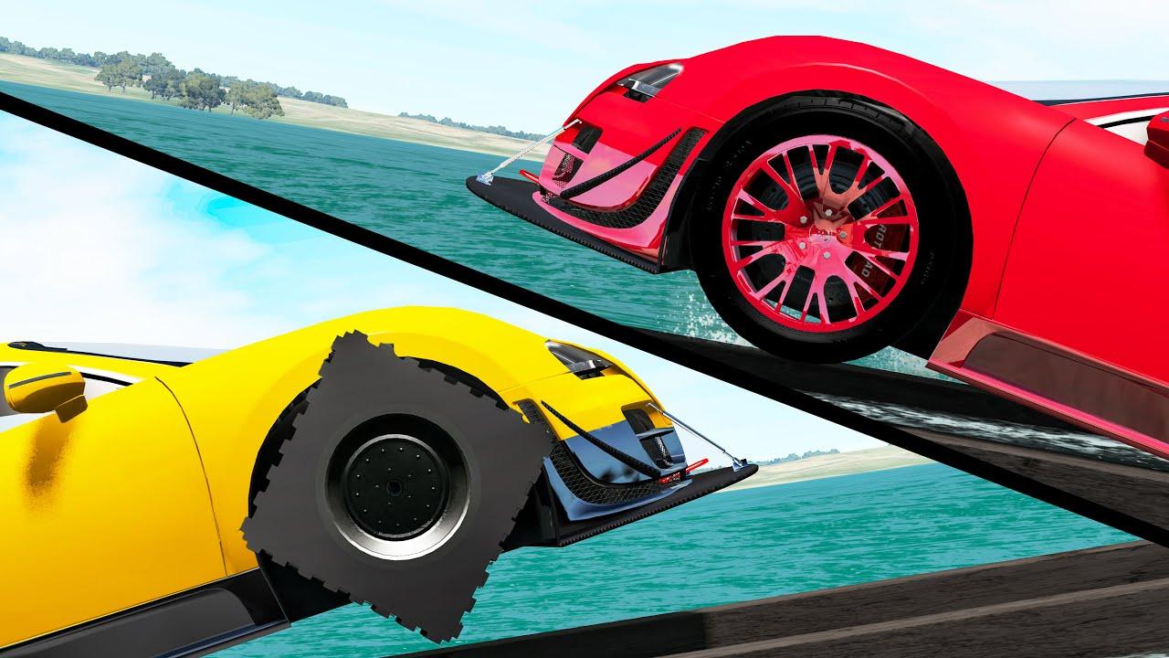 Download Round Wheels vs Square Wheels #3 - Beamng drive MP3 Gratis