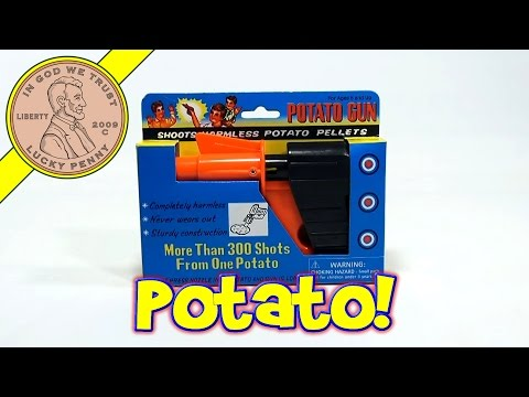 Novelty Potato Gun - Shoots Harmless Potato Pellets