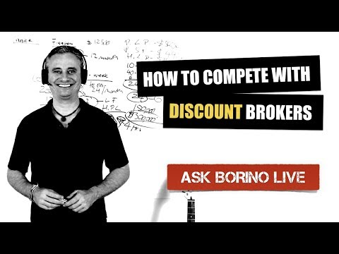 COMPETING WITH DISCOUNT BROKERS - Borino coaching for real estate agents