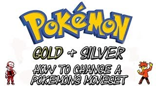 Pokemon Gold and Silver - How To Change Your Pokemon's Moves | GameShark Codes