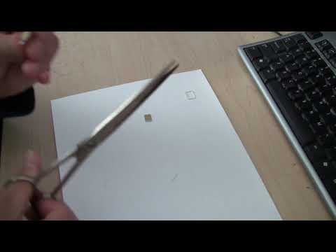 How to cut cellphone sim card from micro to nano size