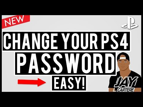 How To Change Your Password On Playstation 4 - How To Change Your PSN Password [2017 Update]