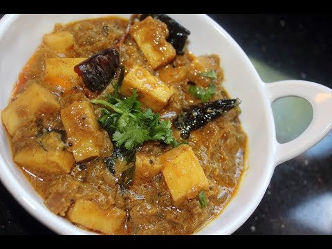 Malabar Paneer Curry - South Indian Veg Curry