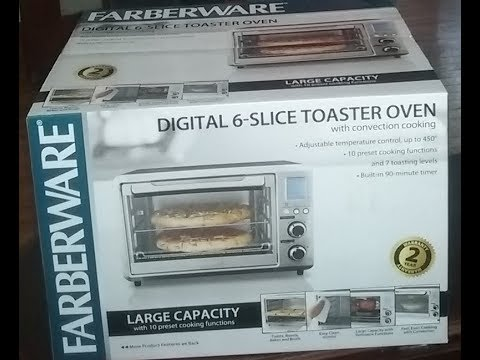 Farberware Convection Oven with Rotisserie review