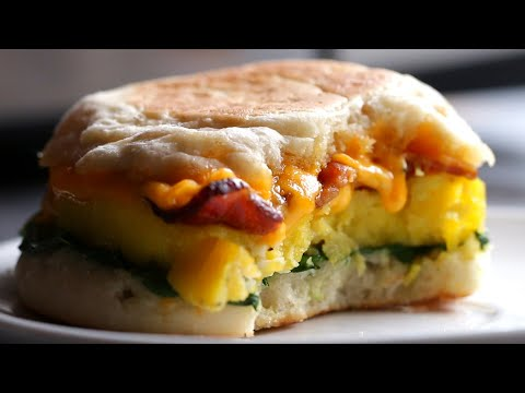 Microwave-Prep Breakfast Sandwiches
