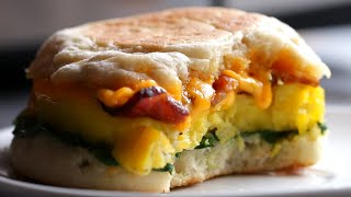 Microwave-Prep Breakfast Sandwiches