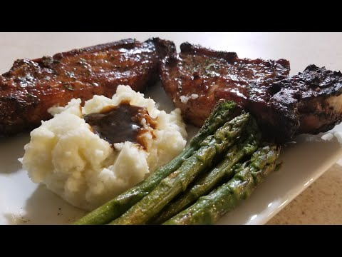 Air Fryer Country Style Pork lion Ribs Cooks Essentials Breville Smart Oven Airfryer digital cooker