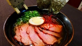 How to make Ramen at Home 【醤油ラーメン・Soy Sauce】