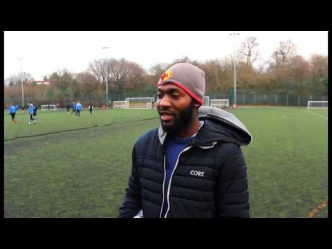UK: London students raise money for charity during AFCON