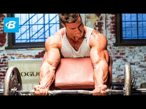 Calum Von Moger's Old School Bodybuilding Arms Workout | Armed and Ready