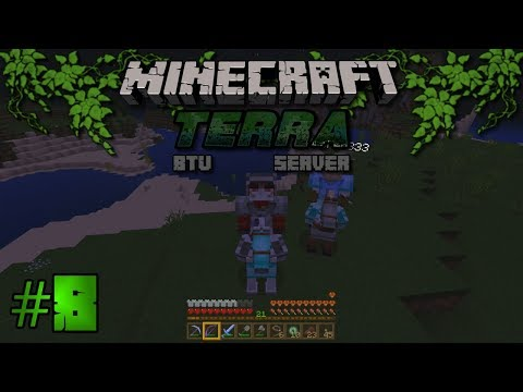 Let's Play Terra BTU Server - Ep8 - Minecraft Bedrock with Archer833