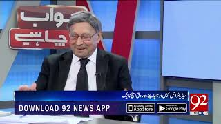 JAWAB CHAHYE With Dr Danish  | 7 October 2019  | Exclusive Interview with Farooq H.Naek | TSP