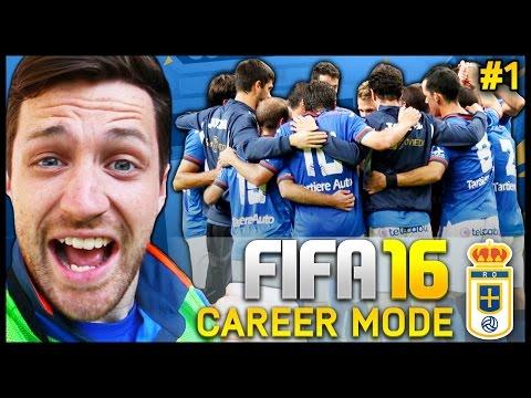 Real Oviedo Career Mode #1 - WE'RE BACK!!! - Fifa 16