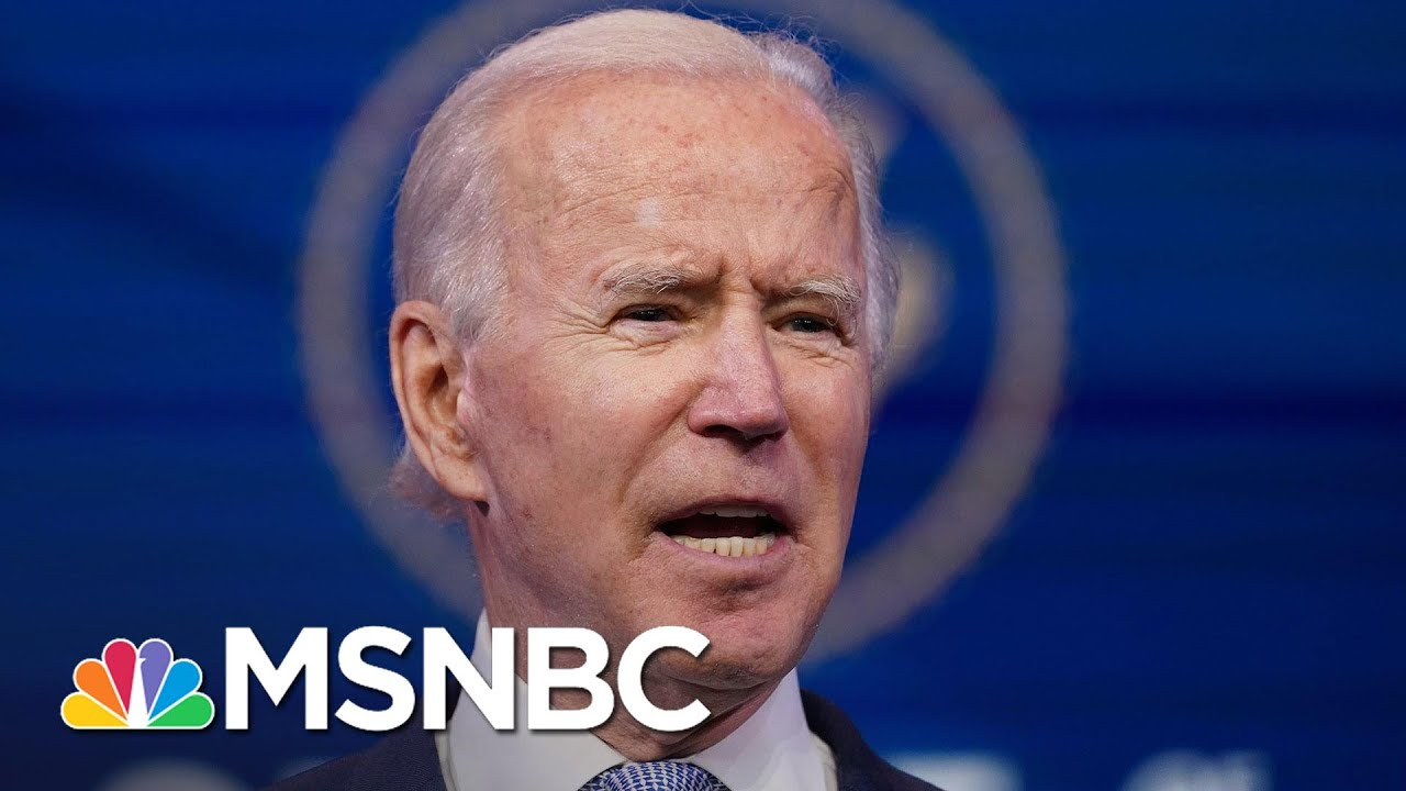 Nicolle Wallace Says 'Joe Biden Went There' In His Response To D.C. Rioters | MSNBC