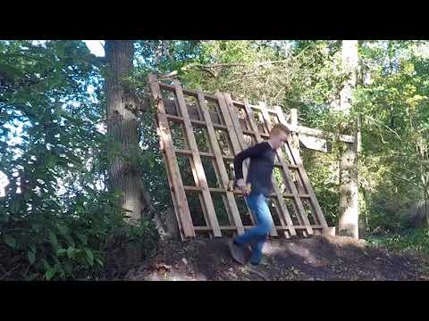 BUILDING A MASSIVE WALLRIDE - building a bike park pt 4