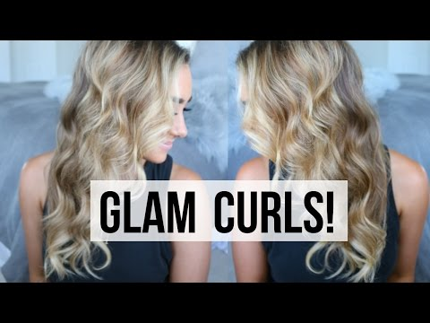 BIG CURLS for FINE, THIN HAIR!