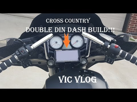 Victory Cross Country Custom Dash Build | Double Din Stereo