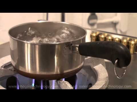 HHO Gas Cooking Stove Boiling Water Night Demo 5-26-2014am