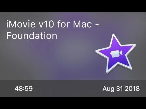 SCOM0765 - iMovie v10 for Mac - Foundation - Preview