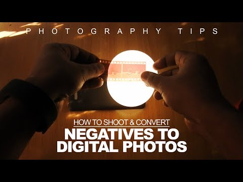 [DIY] How to Shoot & Convert Film Negatives to Digital Photo With DSLR/Smartphone at Home