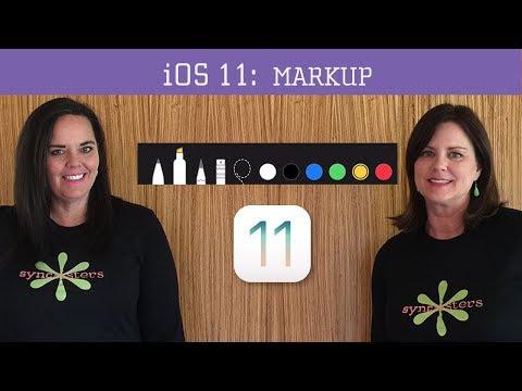 iOS 11 - Markup