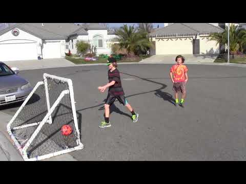 How to build a soccer goal in 30 minutes for $30; Portable, Durable and Safe!!