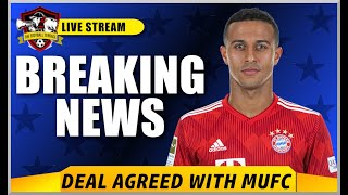 Thiago Alcantara is close to signing for Manchester United? Man United News