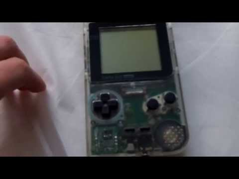 How to repair a Gameboy Pocket after battery leakage (part 1)
