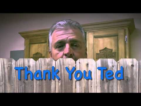Making Wooden Dice And Thanking Ted