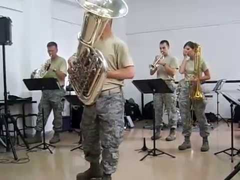 Tuba Tiger Rag | USAF Band of the West