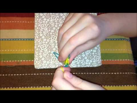 How To Make A Rubber Band Loom Keychain NO LOOM