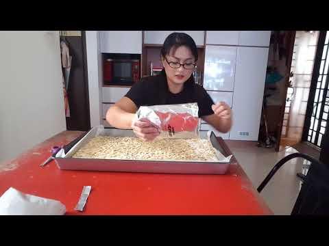 The Noob Cook: Florentine Almond Cookies