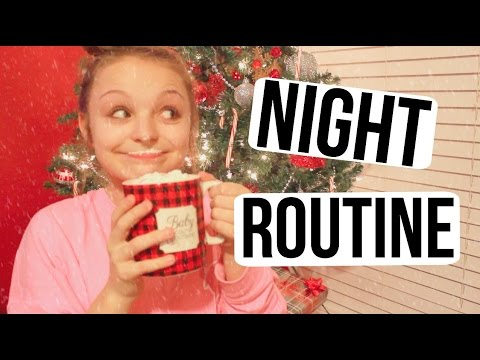 Night Routine: Winter Break | Avery Morrison