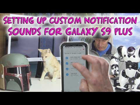 Setting Up Custom MP3 Sound Notifications on your Galaxy S9 Plus