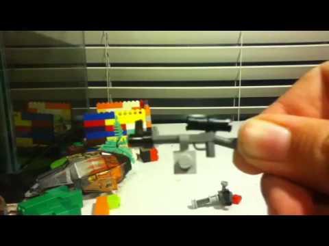 How to make lego minifig guns