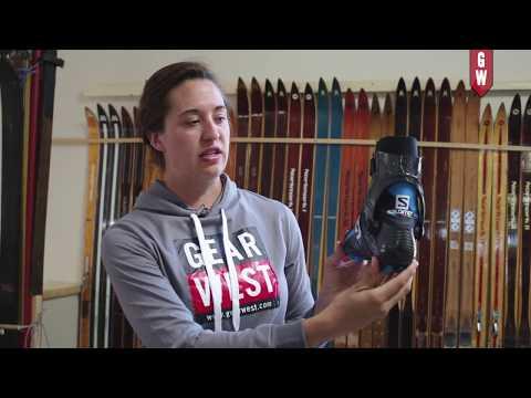 Salomon Carbon Skatelab Boot with Gear West