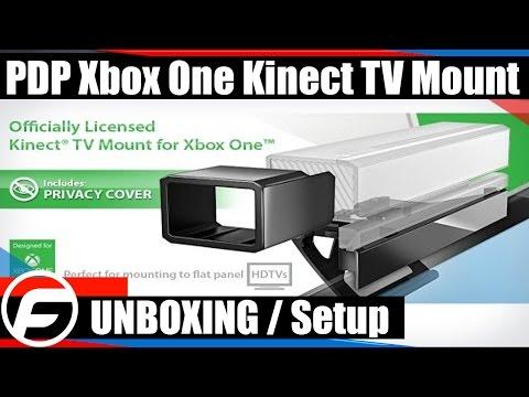 PDP Xbox One Kinect TV Mount Unboxing / Setup
